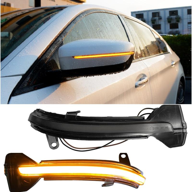 Brillantes luces LED de alta calidad para exteriores, espejos traseros, luces de señal de giro, aptas para 5 SERIES F10 F01 F11 F07 F18 F01