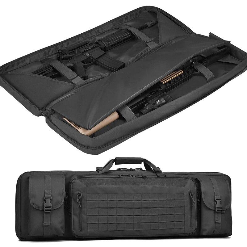 Охотничья сумка 2 боковых Пистолет Чехол рюкзак пистолет огнестрельное оружие Тактический винтовочный рюкзак транспортировки карабин сум...