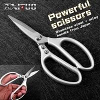 xituo kitchen scissors stainless steel home kitchen gardening strong scissors chicken bone scissors professional sharp scissors