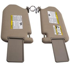 Pair Sun Visor fit Nissan Pathfinder Platinum 2013-2018 96401-9PB0A 96400-9PB0A