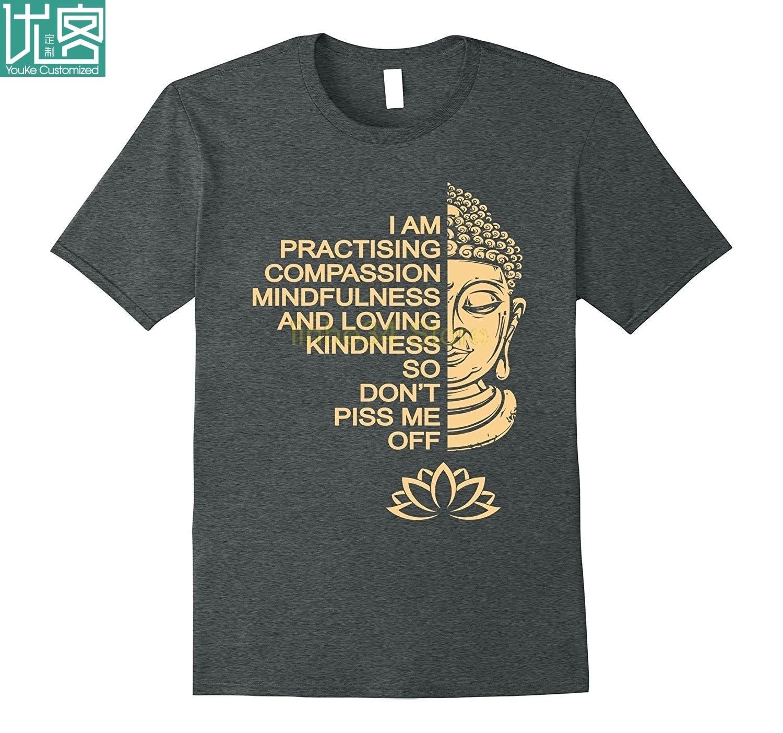 Футболка для медитации Будды, подарок для мужчин и женщин|Футболки| | АлиЭкспресс