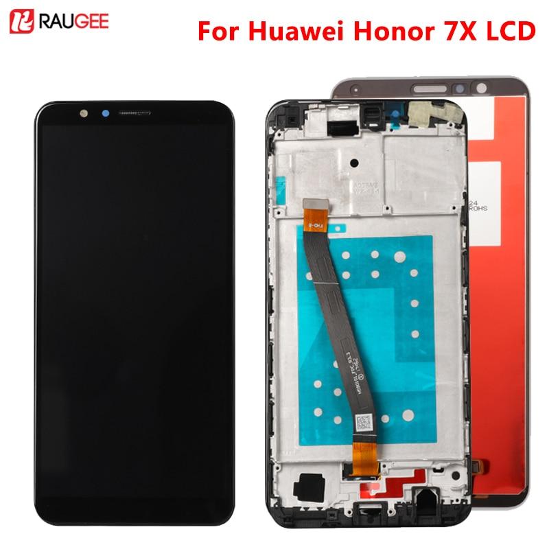 Para Huawei Honor 7X LCD MONTAJE DE digitalizador con pantalla táctil de repuesto para Huawei Honor7X BND-AL10 BND-L21/L22