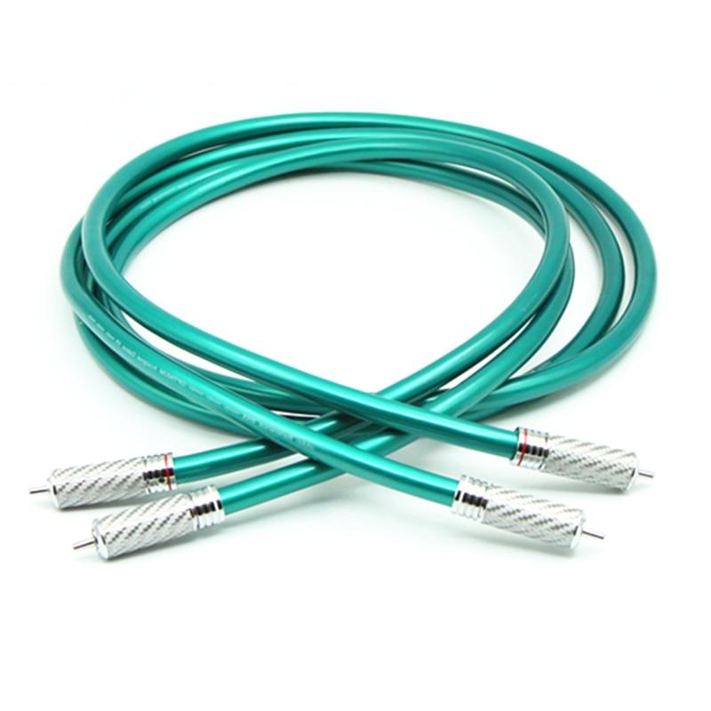 Frete grátis ortofon cabo de alta fidelidade rca, hi-end cd amplificador de interconexão cabo de áudio, fio com fibra de carbono