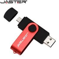 JASTER High Speed USB Flash Drive OTG Pen Drive 128gb 64gb Usb Stick 32gb 256gb Pendrive Flash Disk for Android SmartPhone/PC