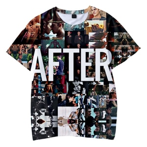 Fashion After We Collided T-shirt O-Neck Kids Tshirt Summer Short Sleeve Girl Boy Kpop Tshirt Casual Street Romantic Movie Tees