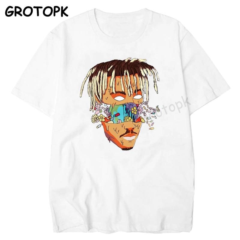 RIP JUICE WRLD 999 футболка с коротким рукавом в стиле хип-хоп Мужская футболка с коротким рукавом для хип-хопа Xxxtentacion мужская одежда Camisetas Hombre