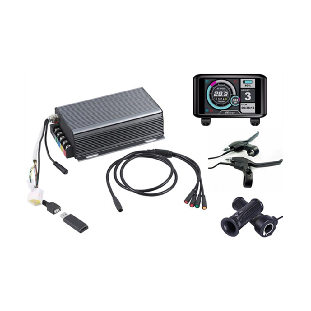 Programa Bluetooth Sabvoton Ebike 36 v-72 v 200A controlador de onda sinusoidal de bicicleta eléctrica
