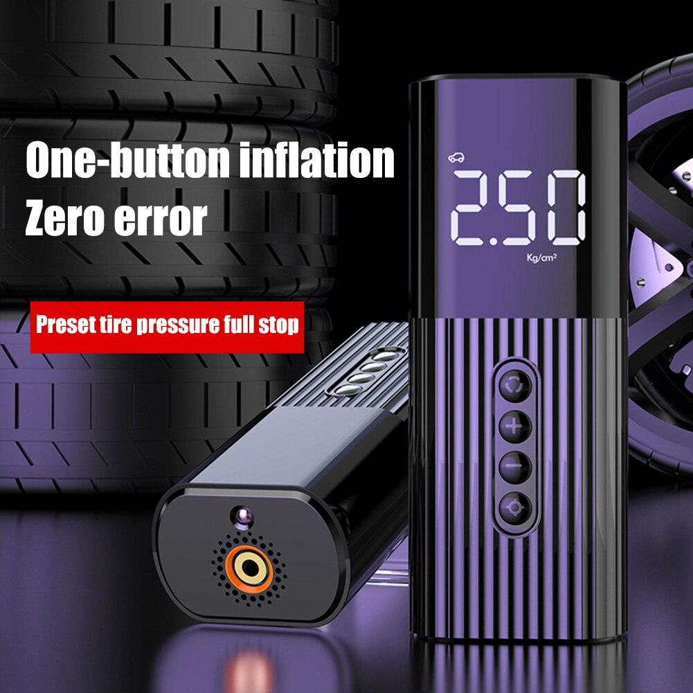 Портативный Электрический автомобильный воздушный компрессор OLEVO, автомобильный воздушный насос мини-насос для накачивания шин, автомобил...