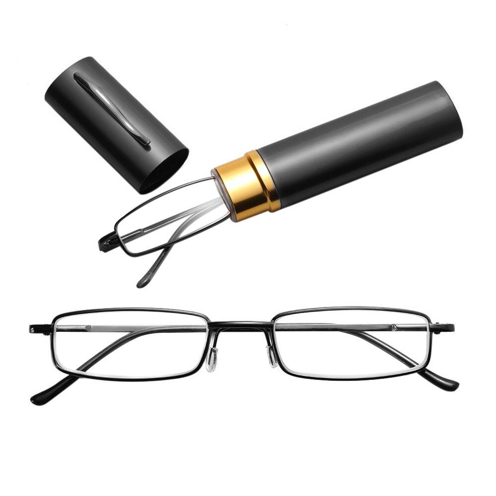 Heißer Lesebrille Hohe Grade Rohr Fall Brillen Mode Buch mit Lernen Lesebrille Für Männer Und Frauen Drop verschiffen