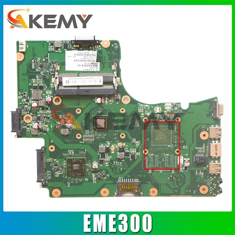 AKEMY V000225210 لوحة الأم للكمبيوتر المحمول توشيبا الأقمار الصناعية C655D EME300 اللوحة الرئيسية للكمبيوتر المحمول 6050A2408901-MB-A02
