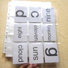 30 feuilles poches carte à collectionner plastique poche Pages pour journaler carte Photo carte postale jeu carte Pokemon collecte fournitures
