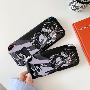 Japanese Comics Demon Slayer Kamado Tanjirou Switch Protective Case For Nintendo Switch And Lite Cover