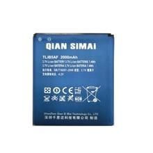 QiAN SiMAi Новый TLiB5AF 2000 мАч батарея Замена для Alcatel One Touch Pop C5 OT 5036 5036D 5037 5037D 5037A 5037X OT-997