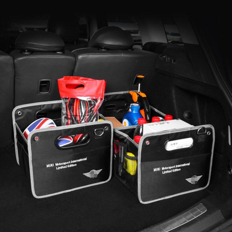 Car Organiser Trunk Organizer Box Boot Case Multi-Pocket Universal Adjustable Folding Storage High Capacity Stowing & Tidying