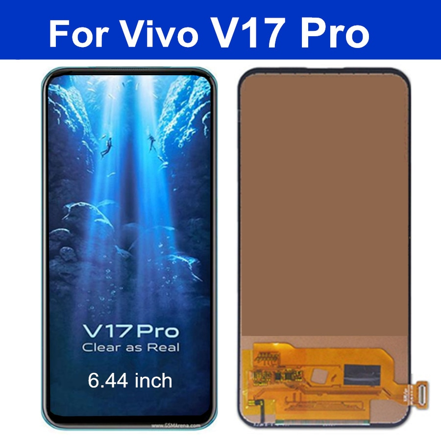 شاشة TFT LCD تعمل باللمس بديلة ، 6.44 بوصة ، لـ Vivo V17 Pro 1910