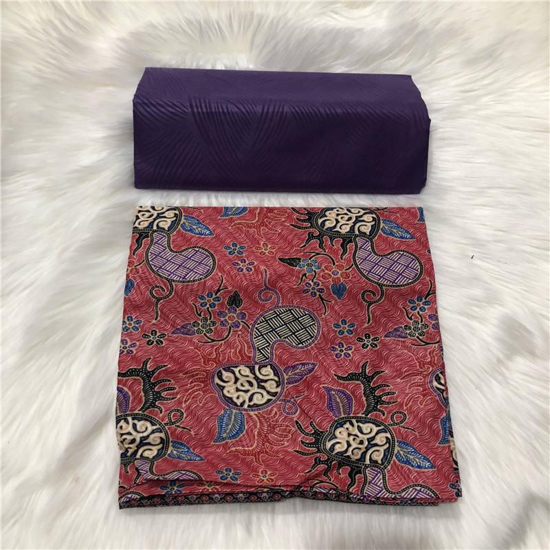 2019 Nigerian Polyester Wax Ankara Kente Fabric Chitenge Ghana Wax African Kitenge Prints Fabric For Cloth in 2+2 yards AW30