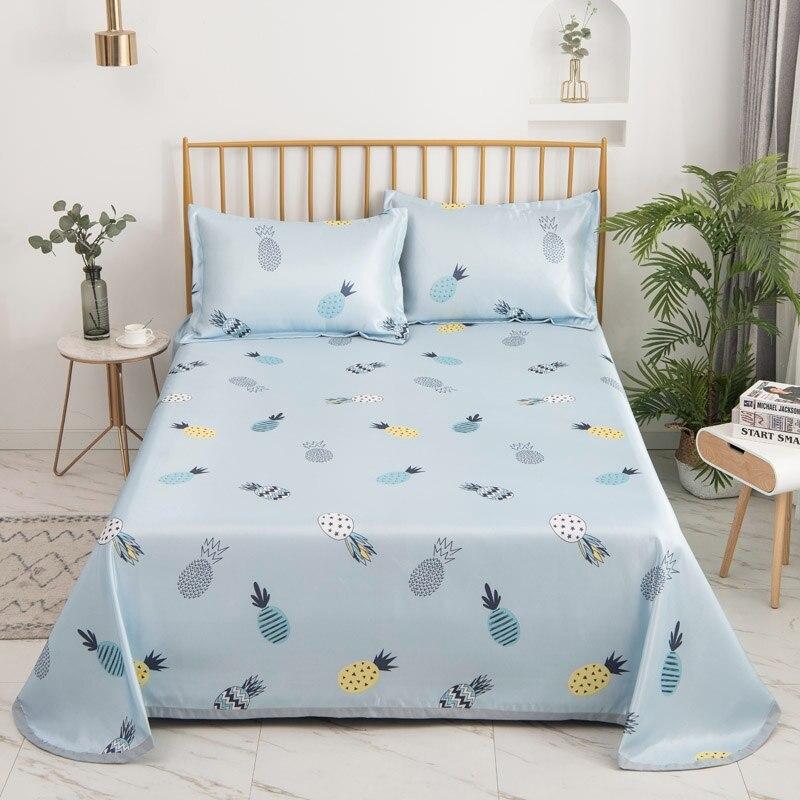 أغطية سرير من القطن والحرير ، أغطية سرير كبيرة الحجم للفنادق والمنزل ، بدون كيس وسادة