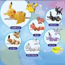 Tomy Pokemon Pikachu kabel Protector zwierząt dla Iphone Clownfish telefonu komórkowego złącze akcesoria organizator dla lalek