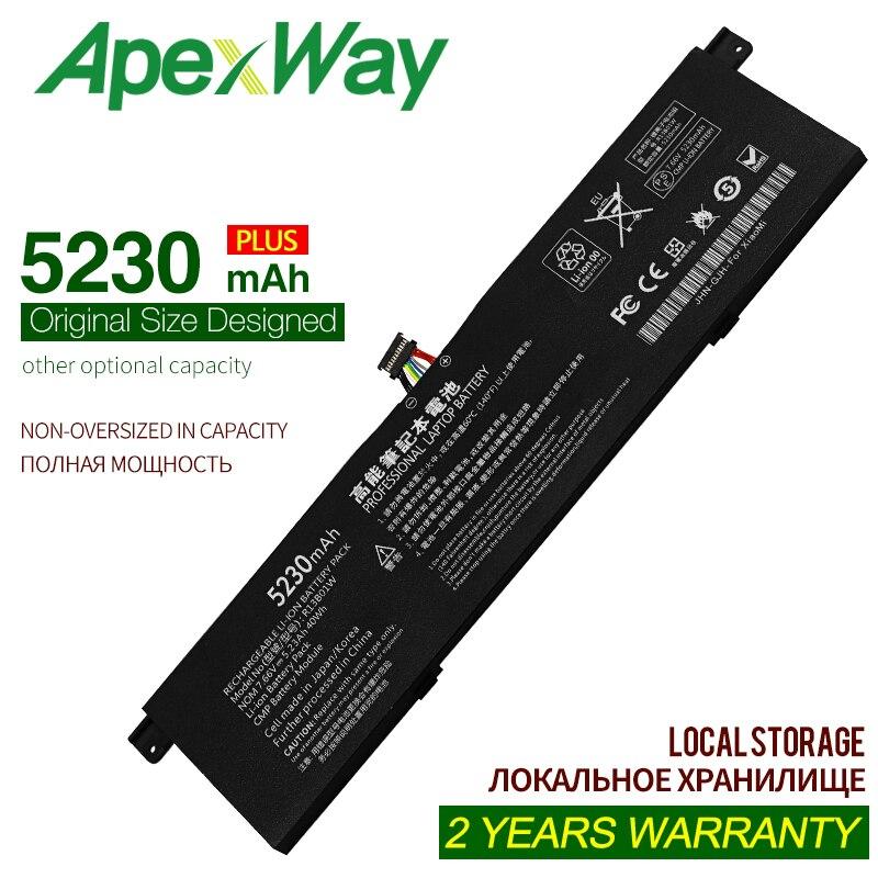 7.6V/7.66V 5230mAh/40Wh New R13B01W R13B02W Laptop Battery For Xiaomi mi Air 13.3inch 161301-01 R13B