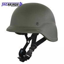 Tagarmor NIJ IIIA PASGT Military Ballistic Helmet M88 Aramid Combat Tactical Bulletproof Helmet