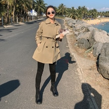 Featured Products Large Goods Have Been Delivered 21 Autumn Short Trench Coat B- f