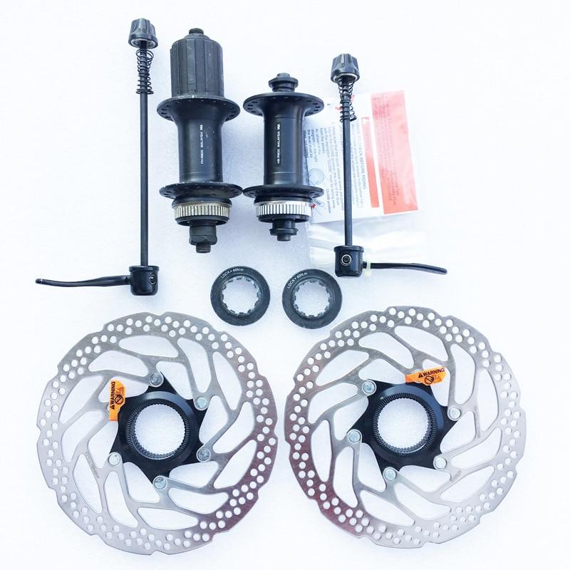 Shimano RM35 Disc Brake Hub RT30 160mm Rotor 7 8 9 10 Speed MTB bike Centerlock Cassette Hubs 32/36 Holes Quick Release