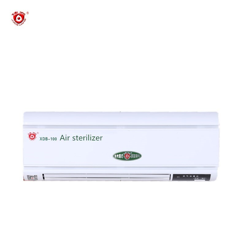 wall mounted small white uv air sterilizer ozone generator air disinfection machine for hospital hotel family