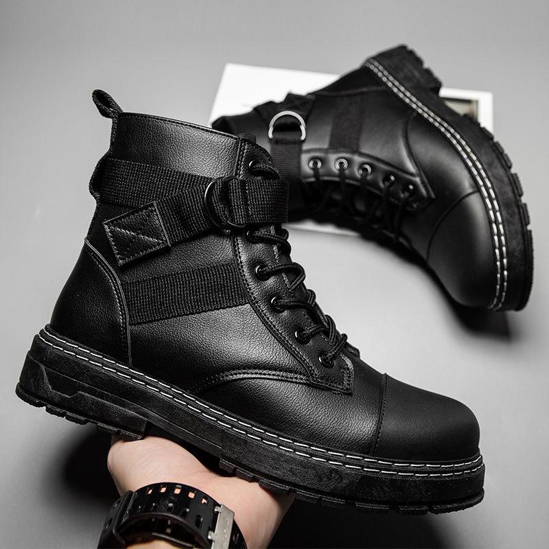 Sapatos de Inverno Botas de Neve Masculino Quente Confortável Antiderrapante Homem Sapatos Masculinos 65 2021