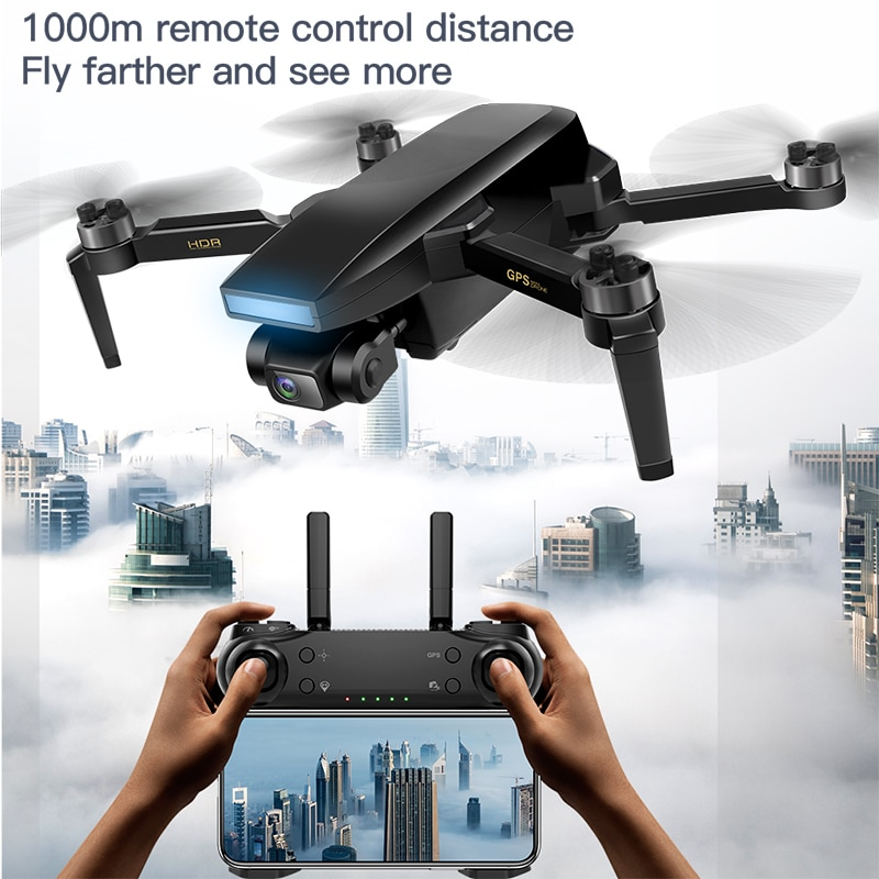 SG108 MAX 2021 Newest 4K Drone 2-Axis Gimbal Professional Camera 5G WIFI FPV Dron Brushless 26mins Distance 1.2km Rc Quadcopter enlarge