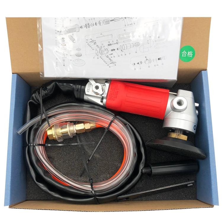 Portable power tools 4 inch 5 inch Polishing Pad Wet  Angle Polisher enlarge