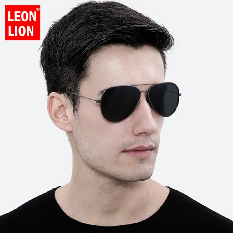 Leonlion 레트로 선글라스 남자 2019 태양 안경 남자/여자 럭셔리 빈티지 선글라스 남자 거울 패션 oculos 드 솔 gafas