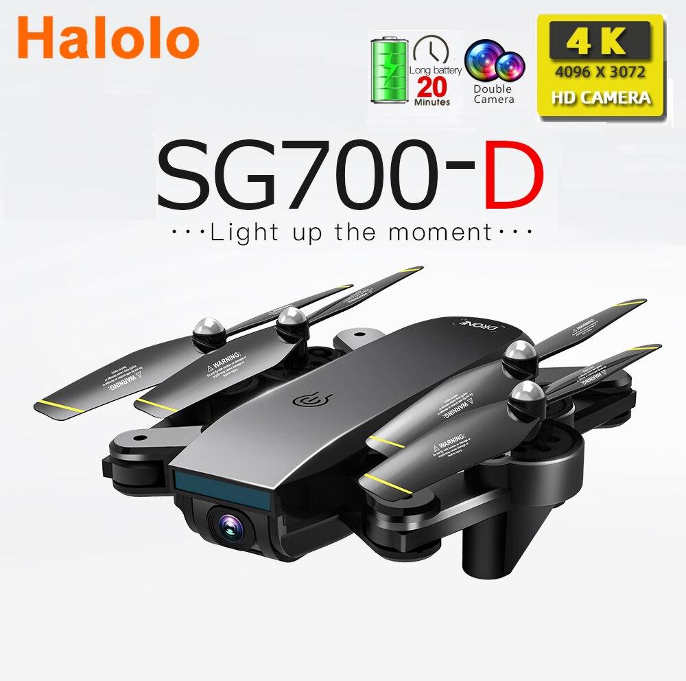 هولو SG700 SG700-D SG700D طائرات بدون طيار مع كاميرا hd rc هليكوبتر 4k طائرة بدون طيار اللعب كوادكوبتر المهنية كاميرا رباعية المروحية