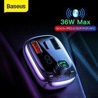 Автомобильное зарядное устройство Baseus Quick Charge 4.0 для смартфонов.