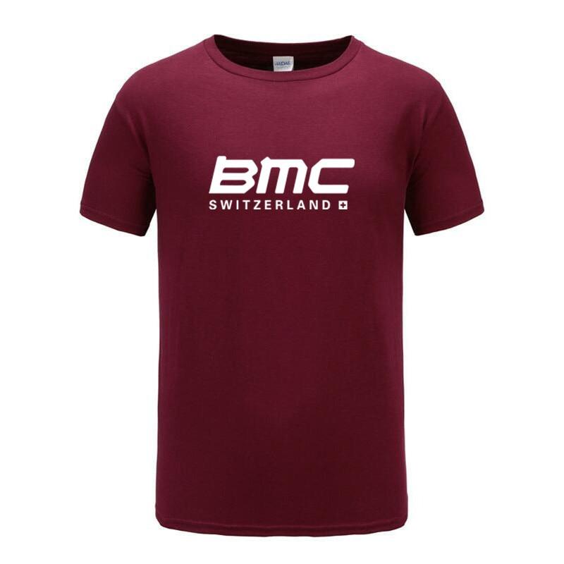 Camiseta BMC Swiss para bicicleta, Camiseta clásica de algodón estético de alta calidad para Hombre, camiseta Harajuku Streetwear, Camisetas para Hombre