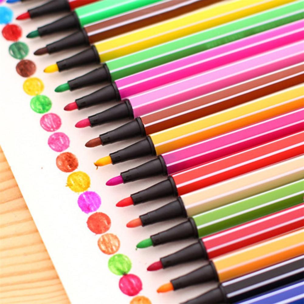 12 cores/conjunto criativo água-cor gel tinta canetas arte marcador caneta papelaria