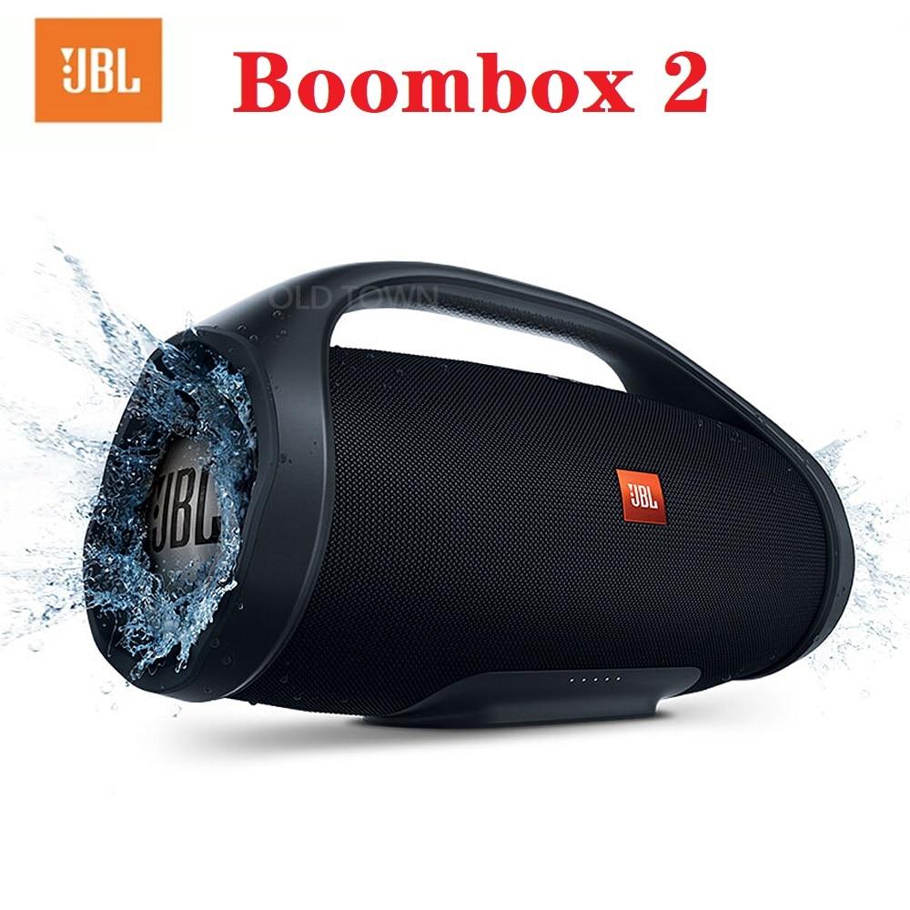 JBL-Altavoz Bluetooth Boombox 2 JBL Altavoz inalámbrico portátil, reproductor de música estéreo...
