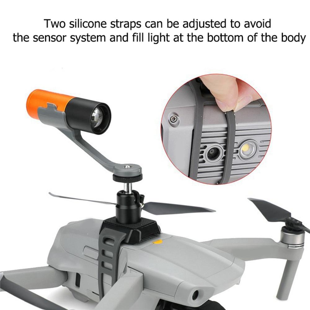 Suporte universal para drone, kit com fivela de extensão para drone mavic 2/air 2/pro e xiaomi fimi x8se, atel evo 2
