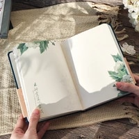 color inside page notebook chinese style creative hardcover diary books weekly planner handbook scrapbook gift student