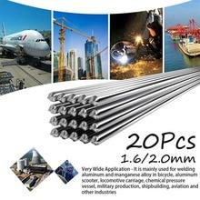 Tiges à souder universelles en aluminium facile, 50cm, basse température 10/20mm 2mm, pas besoin de poudre à souder, 1.6 pièces