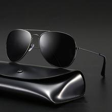Brand Design Classic Aviation Sunglasses Women Mirror Driving Retro Frame Polit Sun Glasses Male UV4