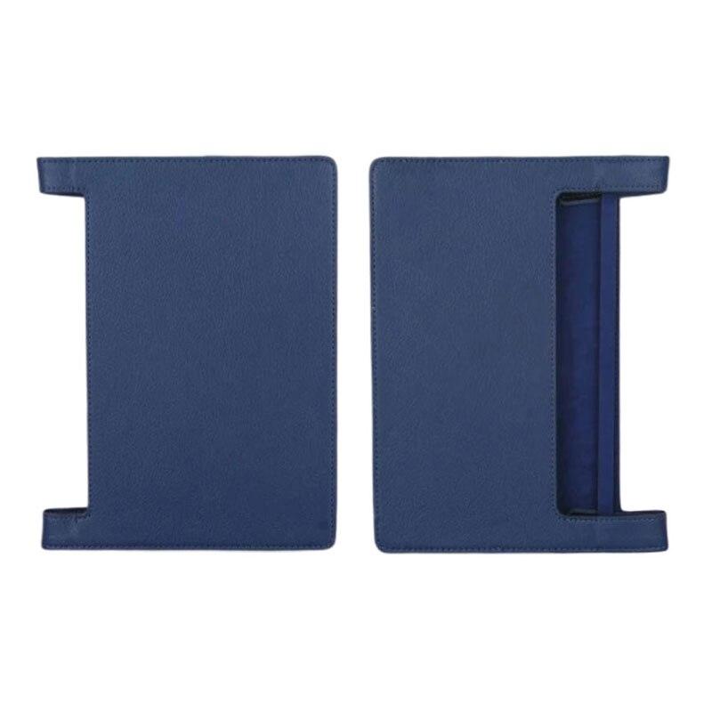 Capa dobrável para tablet, capa dobrável de couro para lenovo yoga book android YB1-X90F