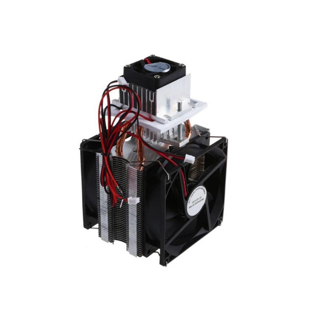 العملية الحرارية بلتيير أشباه الموصلات برودة التبريد نظام التبريد المبرد عدة مروحة 12 فولت لتبريد الهواء