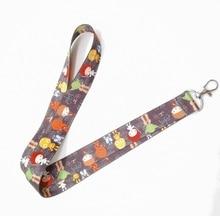 New cartoon star wars Neck Lanyard keychain Mobile Phone Strap ID Badge Holder Rope Key Chain Keyring