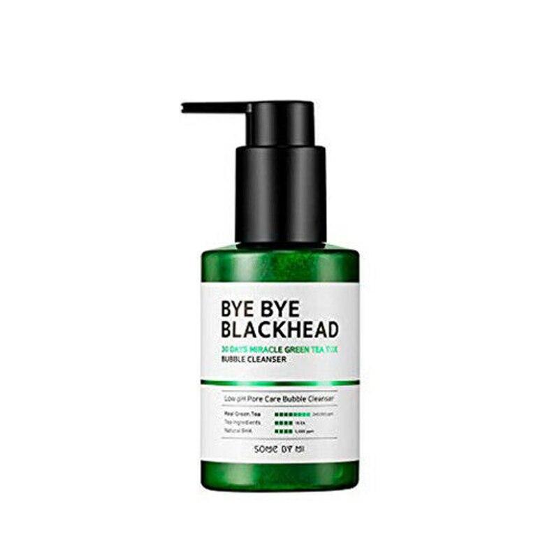 Alguns por mi bye bye blackhead 30 dias milagre chá verde tox bolha cleanser espinha tratamento acne remoção cravo esfoliante