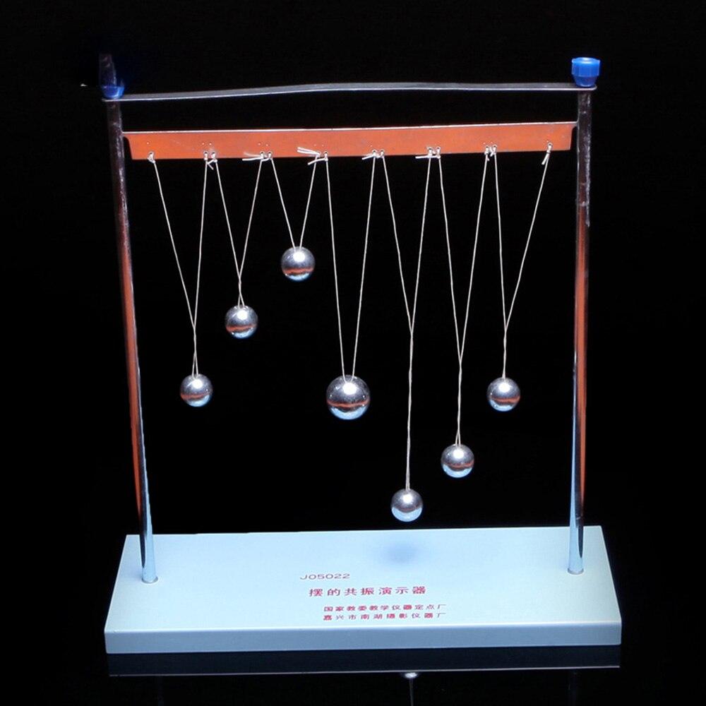 Péndulo resonancia Demostrador de equipo de experimentos físicos péndulo bola secundaria presentación SIDA instrumento de enseñanza