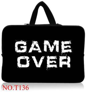 Game Over Laptop Bag For Men Women Laptop Sleeve Waterproof Case 13.3 14 15.6 15 17 inch Computer Notebook For Macbook Air Pro