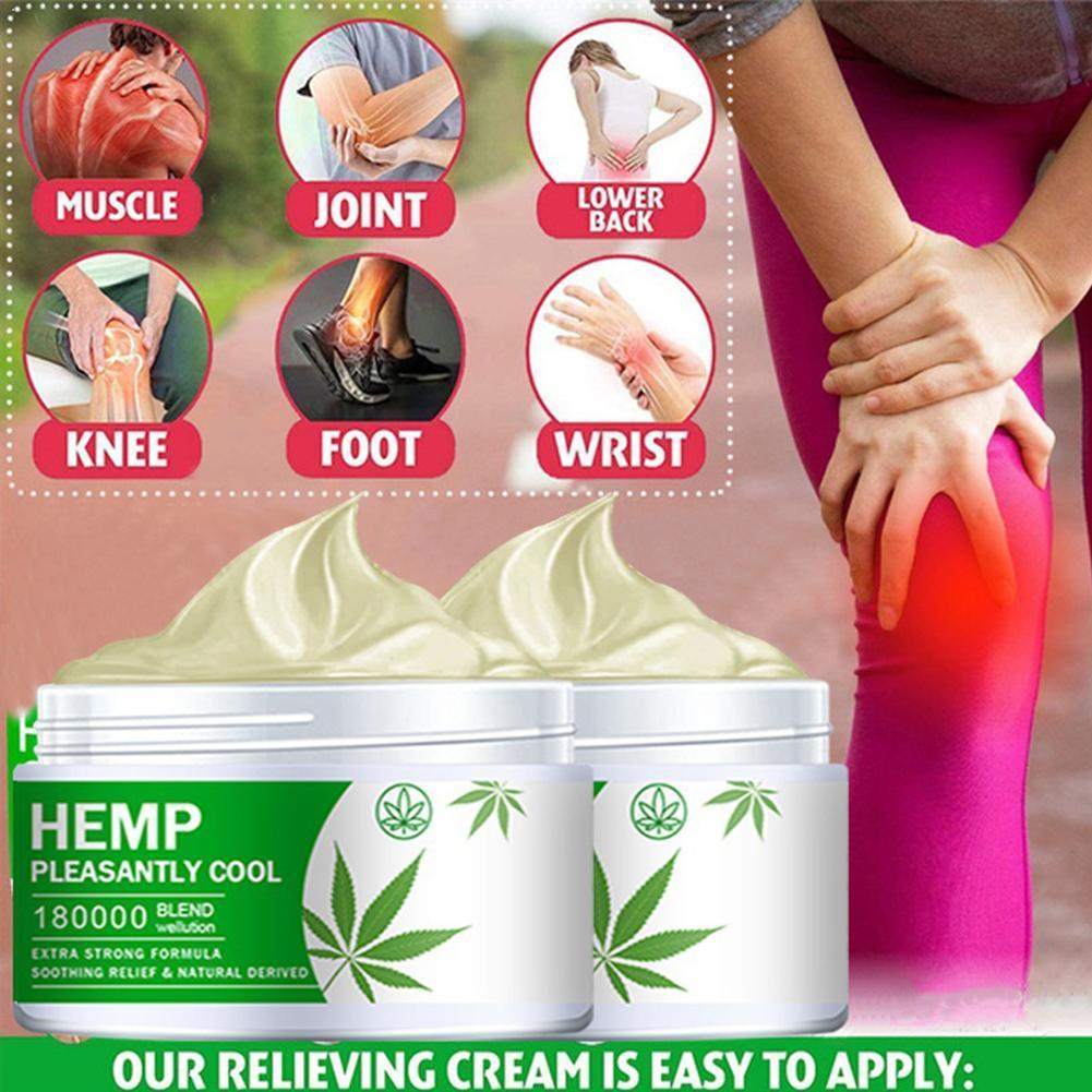 Hemp Balm Ointment Rheumatism Arthritis Relieve Muscle Back Cream Body Pain Shoulder Hemp Pain Neck U9A1 недорого