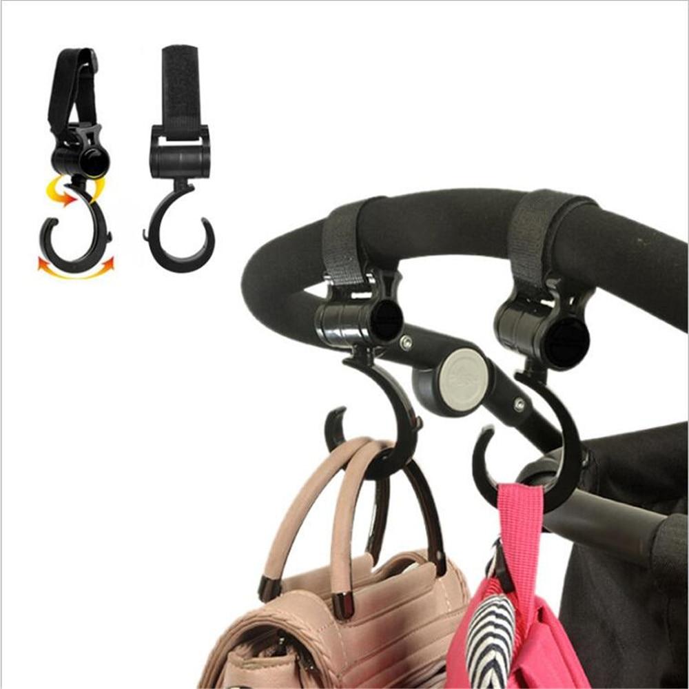 Baby Stroller Hook Wheelchair Organizer Bag Clip Metal Pram Mommy Hook Babyzen Yoyo Yoya Plus Child