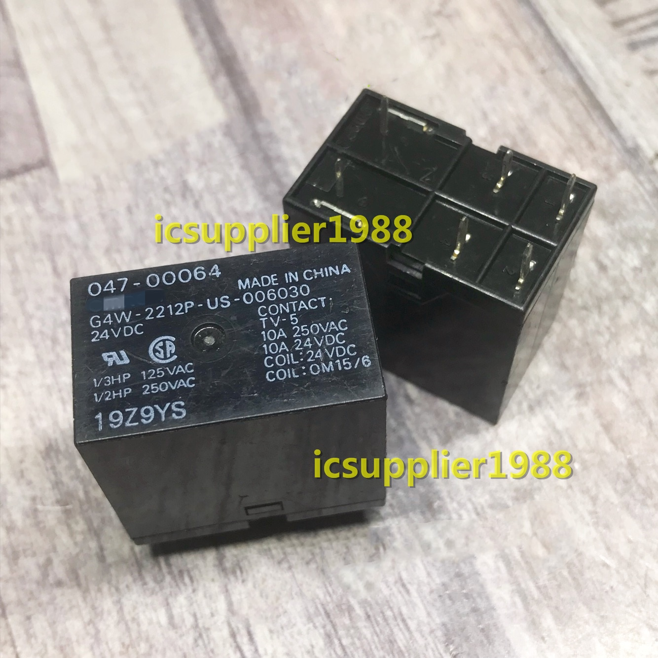 G4W-2212P-US 006030 G4W-2212P-US-006030-24VDC 24V 6Pin DIP6 Relé