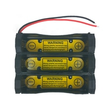 3S1P DIY Angetrieben box Lade Entladen Control Batterie Halter Fall für Li-Ion 11,1 V 18650 Zelle batterie lade slot